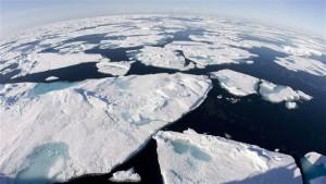 arctique qui fond